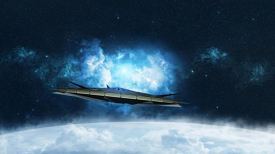 Science Fiction, Ufo, Cover, Futuristic, Forward