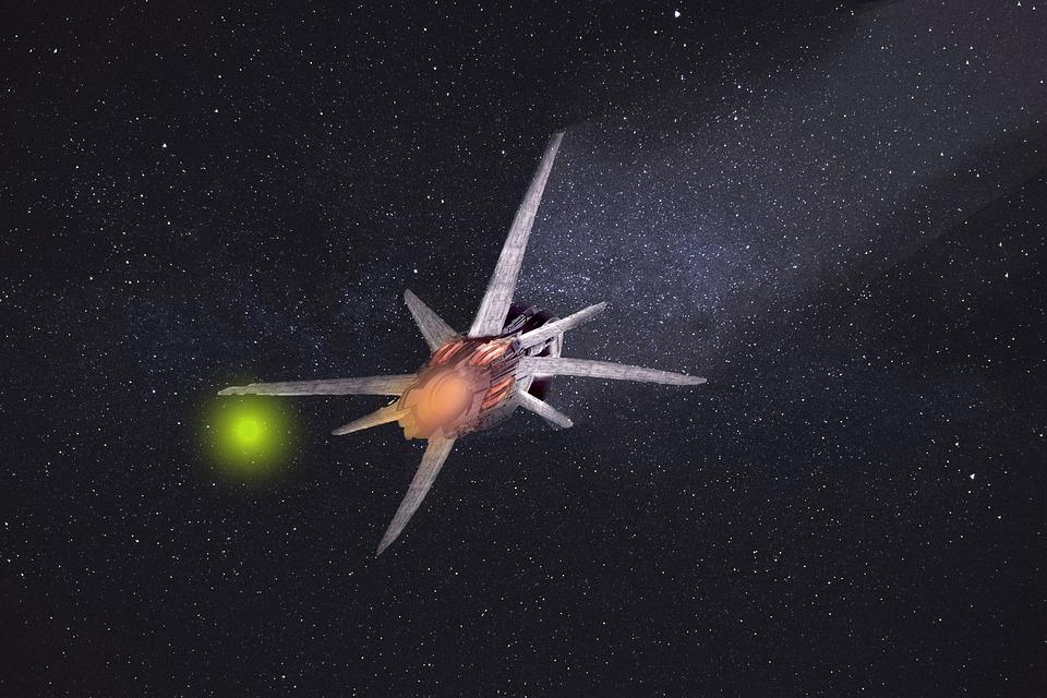 Spaceship, Alien, Space, Ufo, Quantum, Galaxies