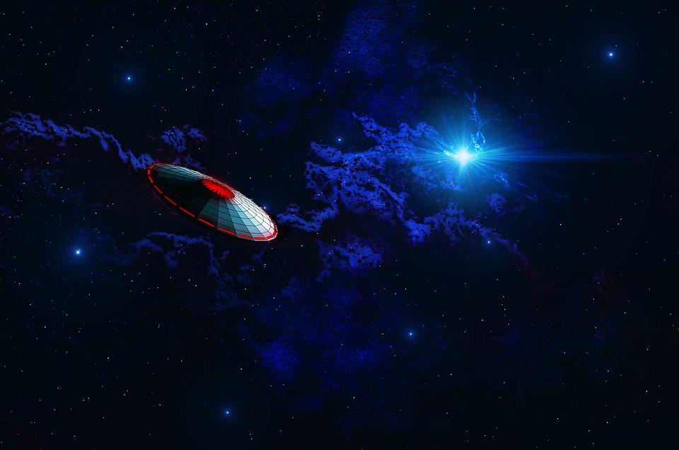 Ufo, Science Fiction, Alien, Futuristic, Cover