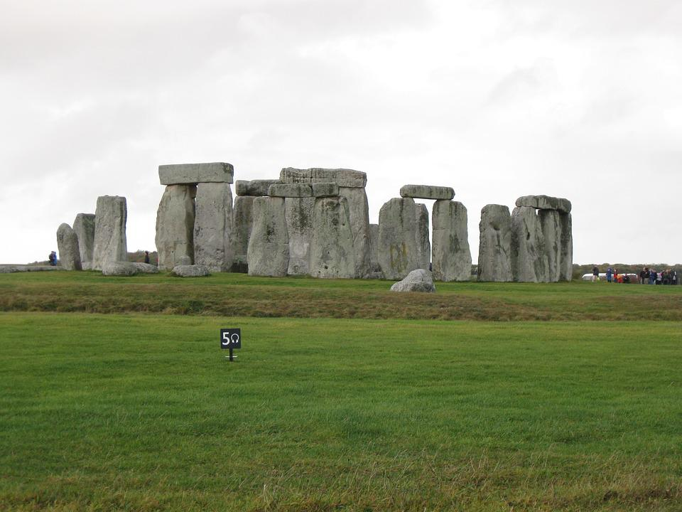 Stone, Stone Henge, Ruin, Uk, Atmospheric, Tourist