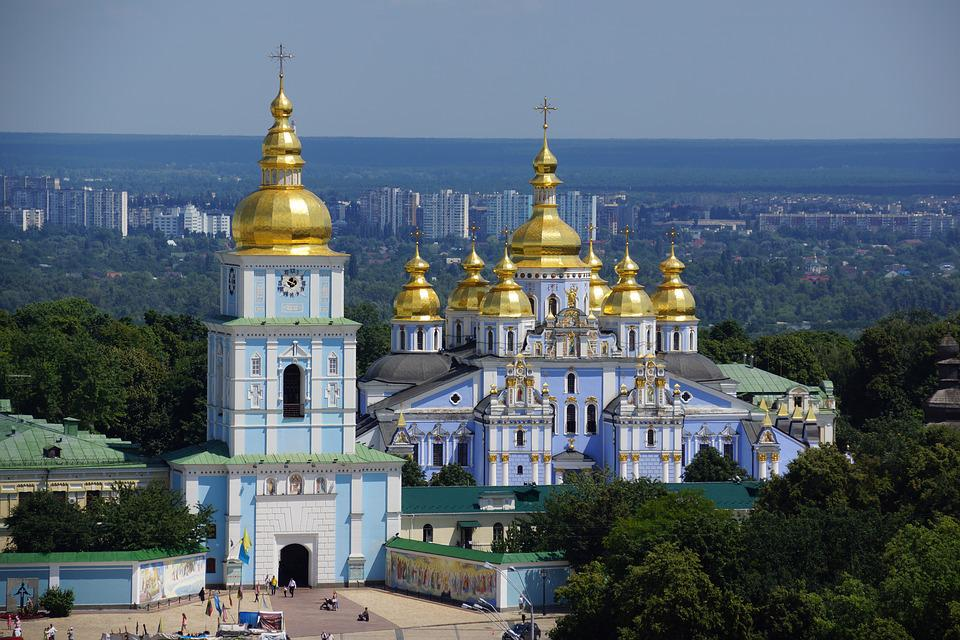 Kiev, Ukraine, Russian, Orthodox, Church