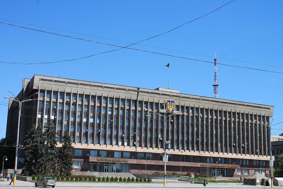 Architecture, Sky, Ukraine, Zaporozhye