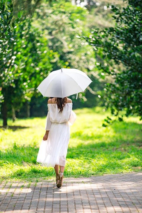 Nature, Summer, Outdoors, Umbrella, People, Grass
