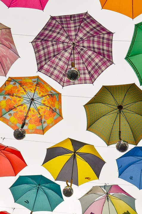 Umbrella, Protection, Parasol, Rainy Weather
