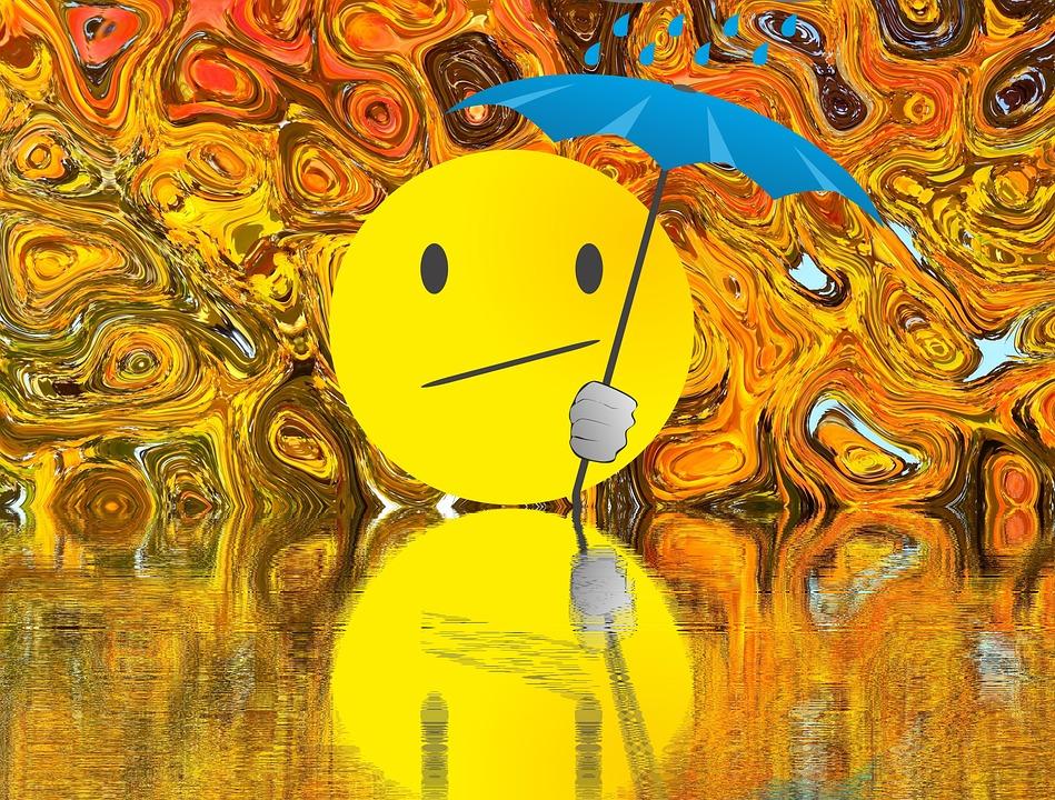 Umbrella, Rain, Autumn, Screen, Weather, Wet