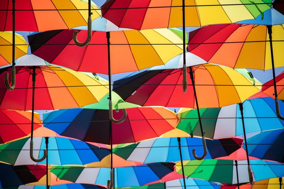 Umbrella, Color, Colorful, Umbrellas, Mood, Atmosphere