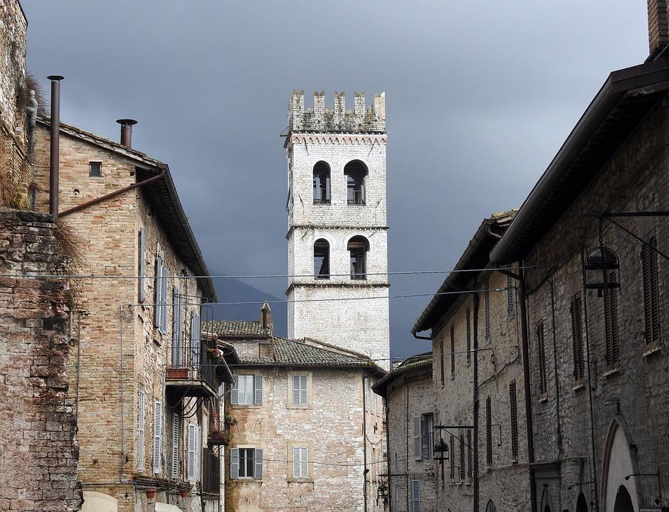 Torre, Assisi, Umbria, Architecture