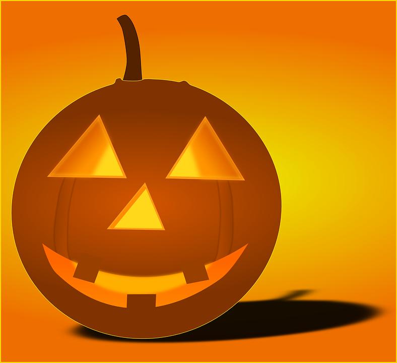 Pumpkin, Ghost, Halloween, Light, Undead, Zombie
