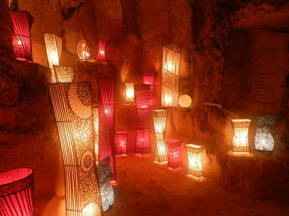 Cave, Valkenburg, Caves, Underground, Light