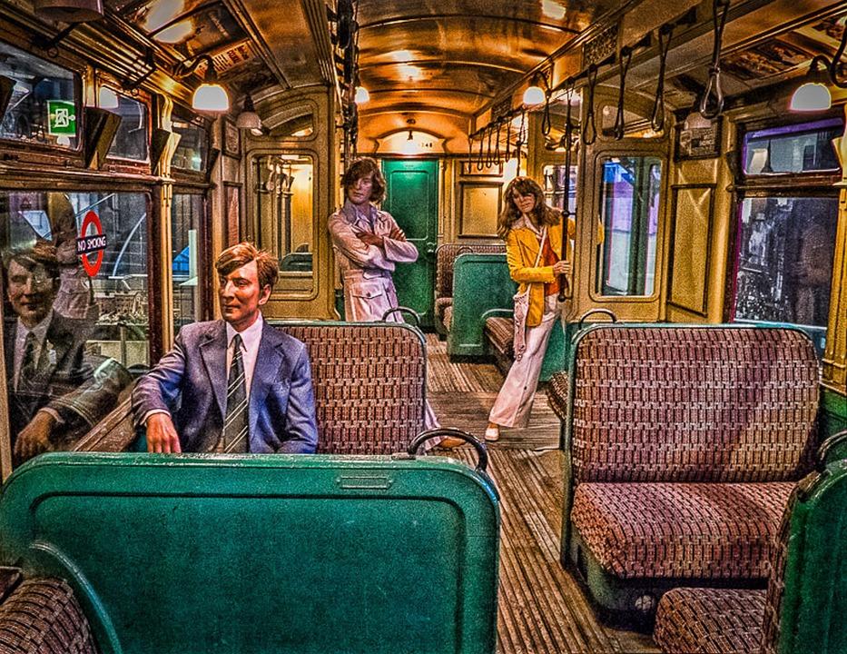 London Tube Train, Underground, Subway, Travel, Metro