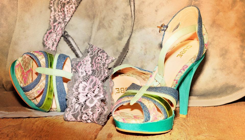 Shoes, High Heels, Underwear, Wood Floor, Mood