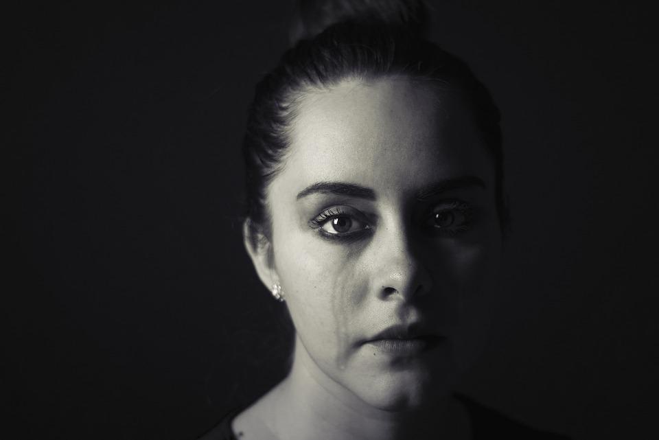 Woman, Crying, Tears, Sad, Sadness, Unhappy, Upset