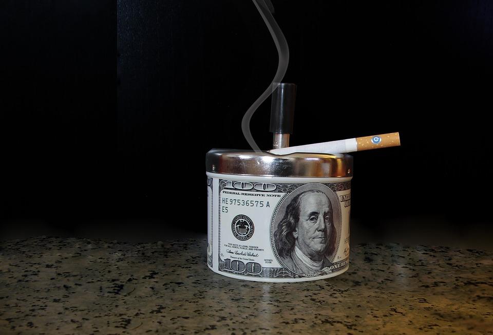 Ashtray, Smoke, Cigarette, Smoking, Unhealthy, Tobacco