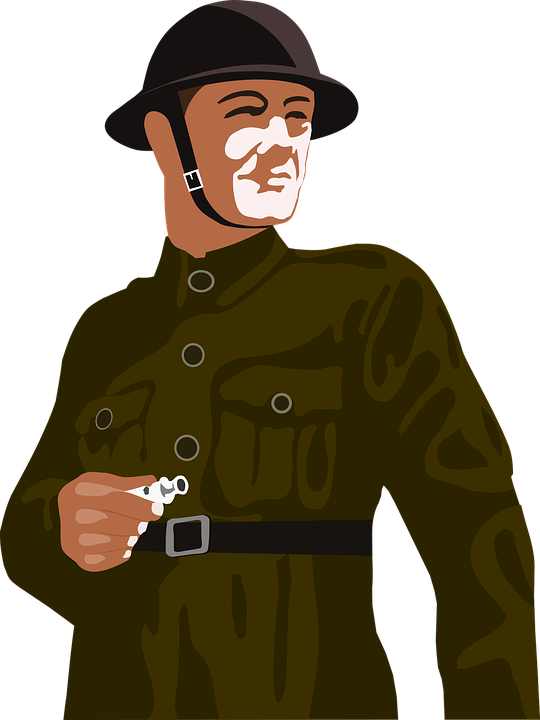 Army, Helmet, Man, Second World War, Soldier, Uniform