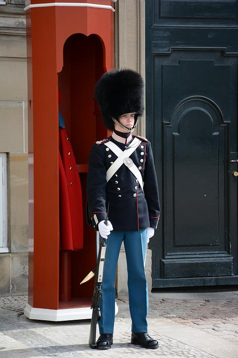 Soldier, Denmark, Danish, Uniform, Historic, Tourist