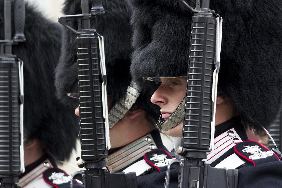 Soldier, Army, Uniform, Rifle, Royal Guard