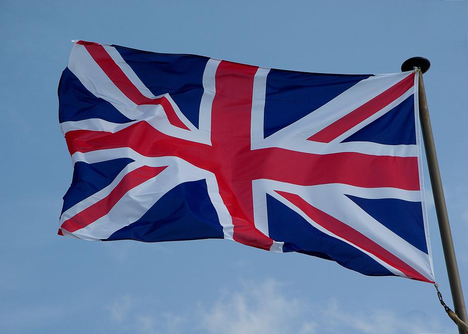 Flag, Union Jack, England, Pavilion