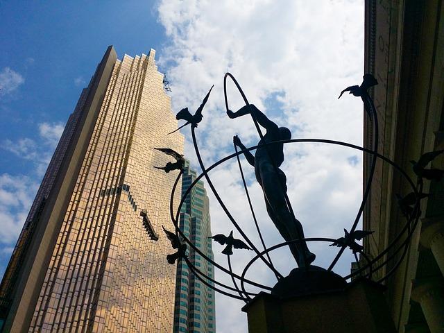 City, Urban, Sky, Sculpture, Union Station, Toronto