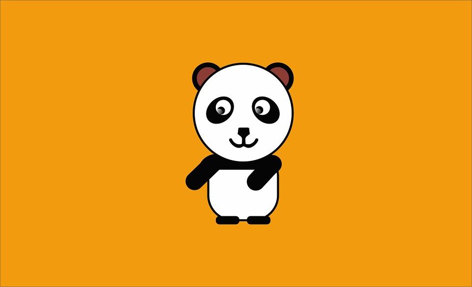 Panda, Animals, Texture, Unique, Art, Nature, Funny
