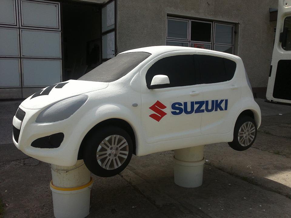 Car, Suzuki, Model, Decoration, Polystyrene, Unique