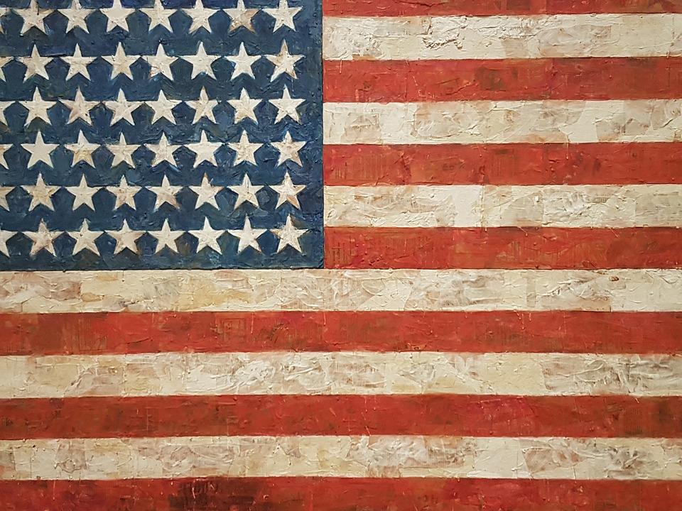 United, Star Spangled, Flag