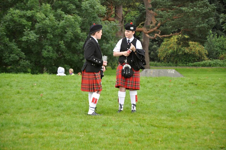 Two Scotsmen, Scots, United Kingdom, Scotland