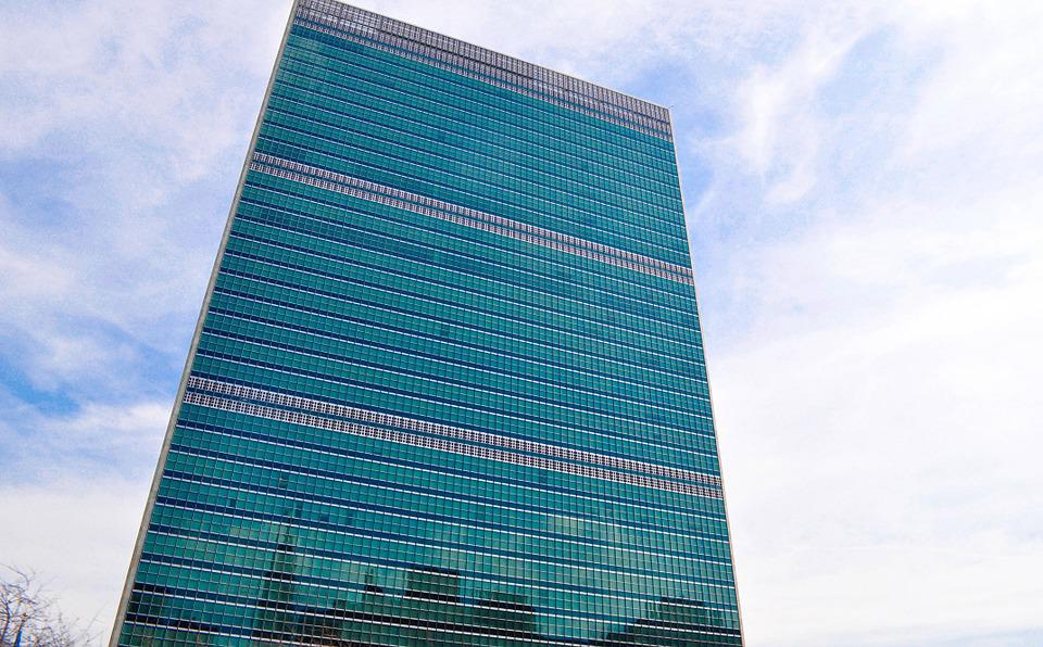 United Nations, Headquarter, Peace, Sky, New York