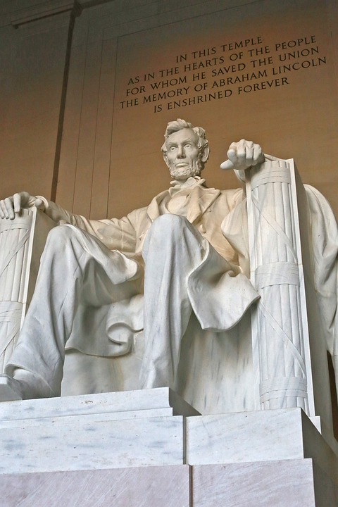Abraham Lincoln, Lincoln Memorial, United States