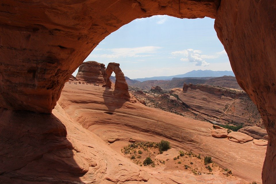 Delicate Arch, Canyon, Utah, United States, Landscape
