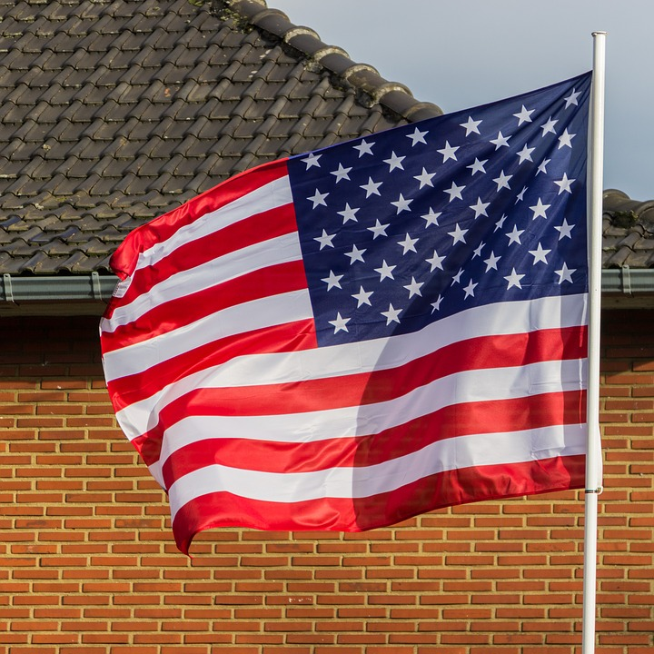 Flag, Usa, American Flag, United States, Usa Flag, Wind