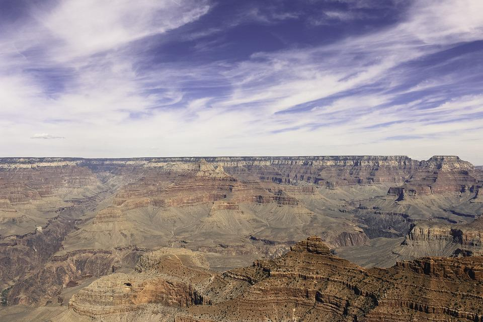 Nature, Landscape, Grand Canyon, Sky, United States