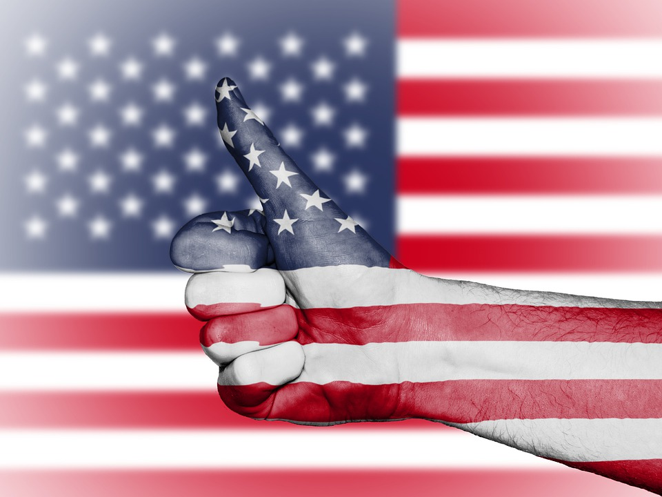 Usa, Us, United States, Flag, Stars And Stripes