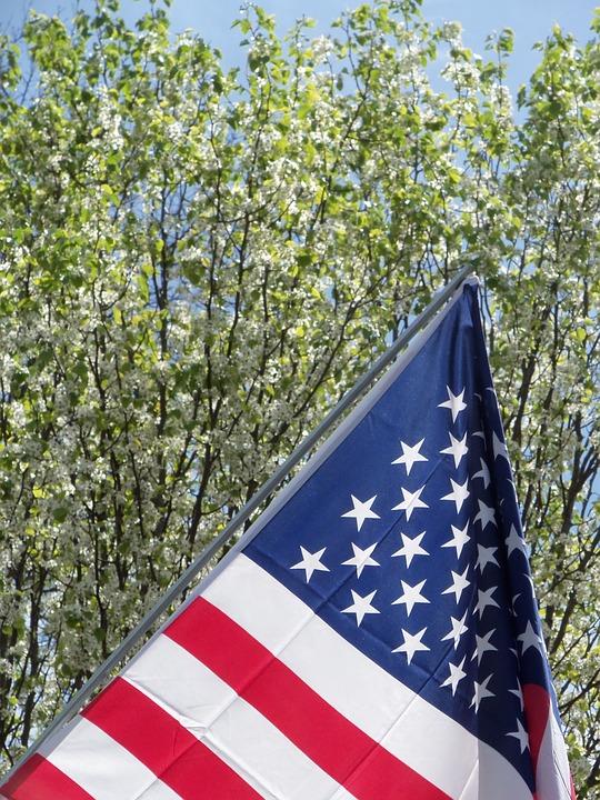 American, Flag, American Flag, Symbol, Usa, United