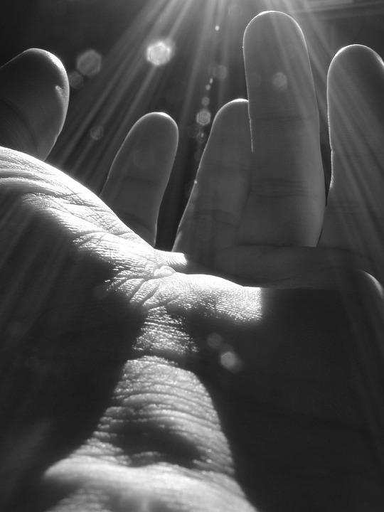 Hand, God, Light, Reaching, Man, Unity, Renaissance