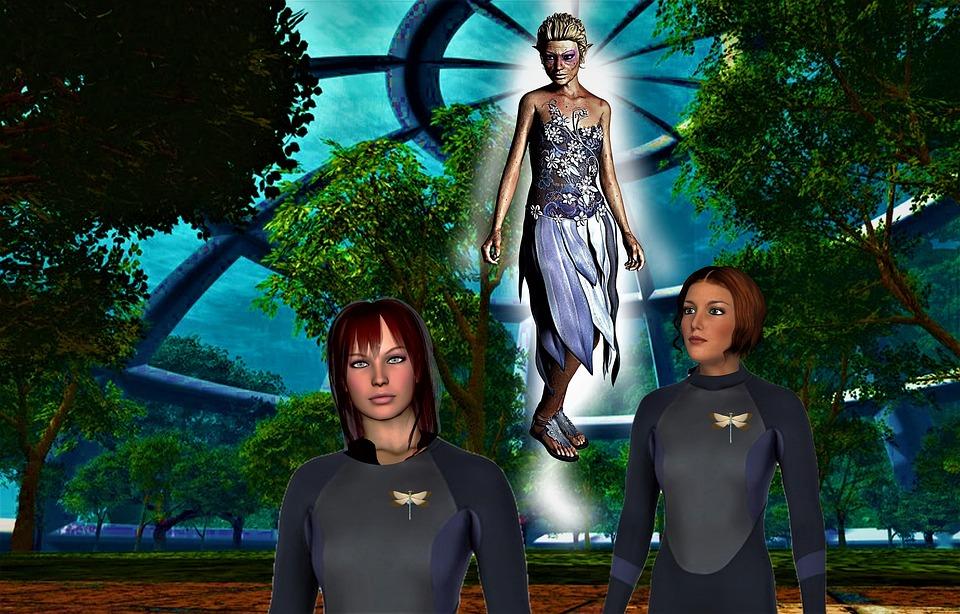 Science Fiction, Fantasy, Galaxy, Universe