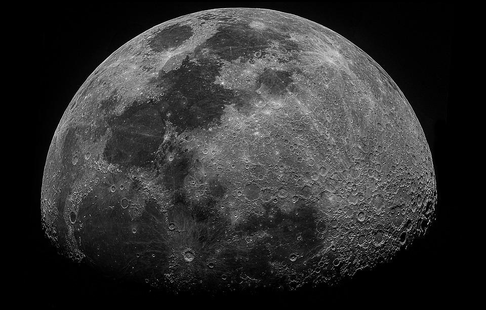 Moon, Sky, Universe, Night Sky, Astronomy