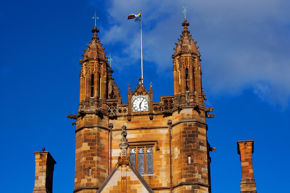 Sydney, University, Architecture