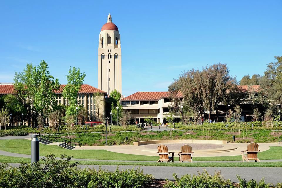 Stanford, University, Campus, Tower, Study, Famous