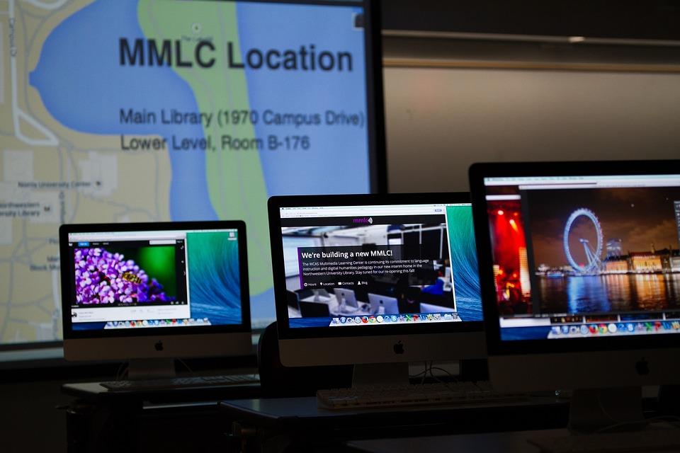 Technology, Library, University, Education, Computer