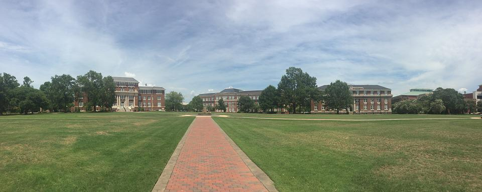 Mississippi State, University, Drill Field, Mississippi