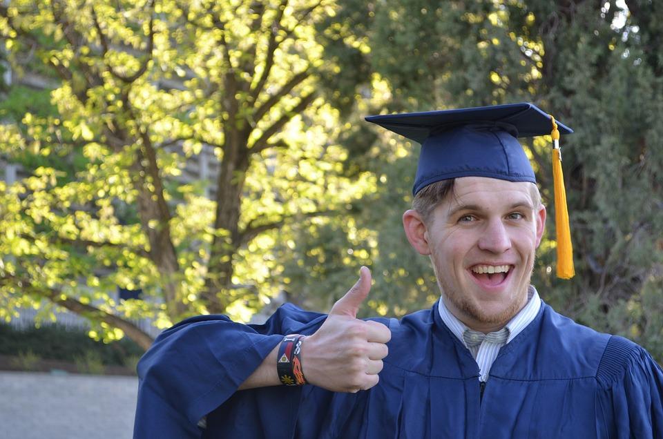 Free photo University Man Gown Cap Education Graduation - Max Pixel