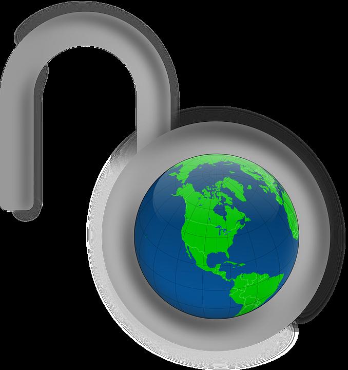 Globe, Lock, Security, Unlocked, World, Padlock