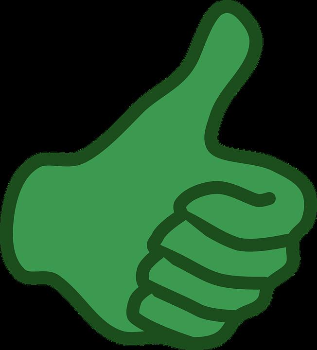 Hand, Like, Thumb, Up, Confirm, Okay, Go, Green