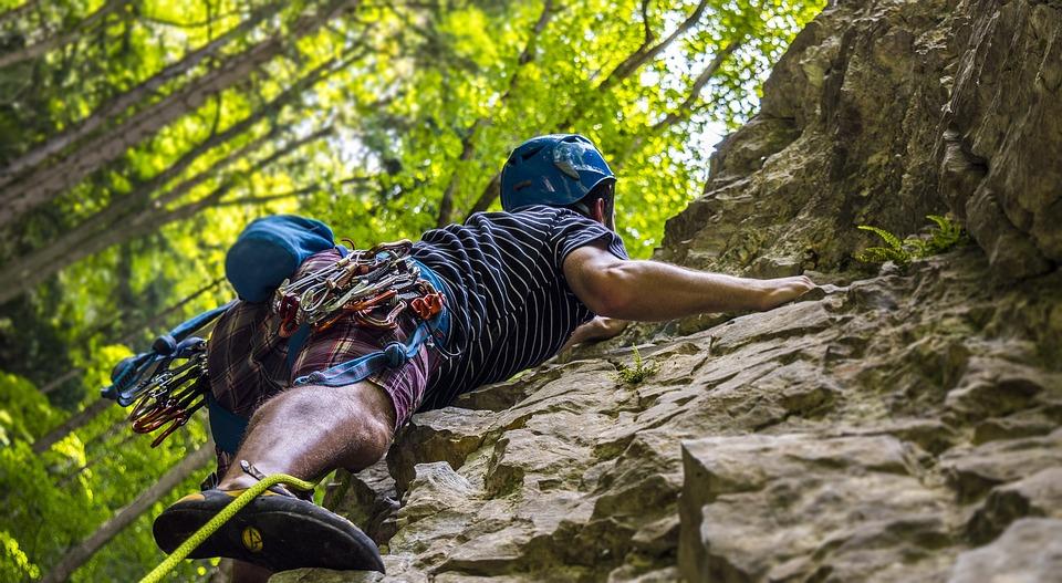 Climbing, Rock Climbing, Climber, Sport, Man, Up