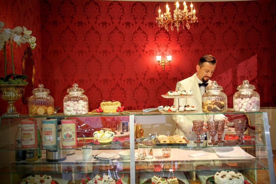 Vintage, Cafe, Upload Locally, Background, Retro, Candy