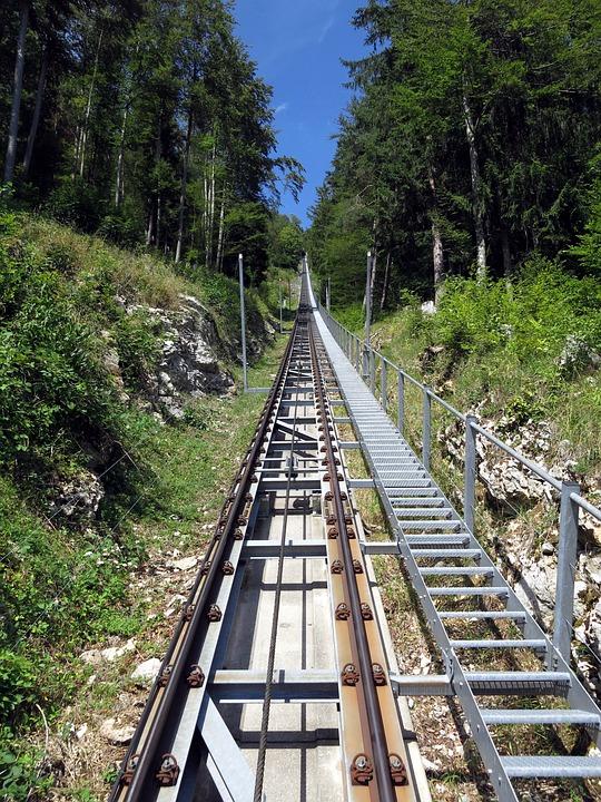 Tracks, Mountain Railway, Upward, Railway Engineering