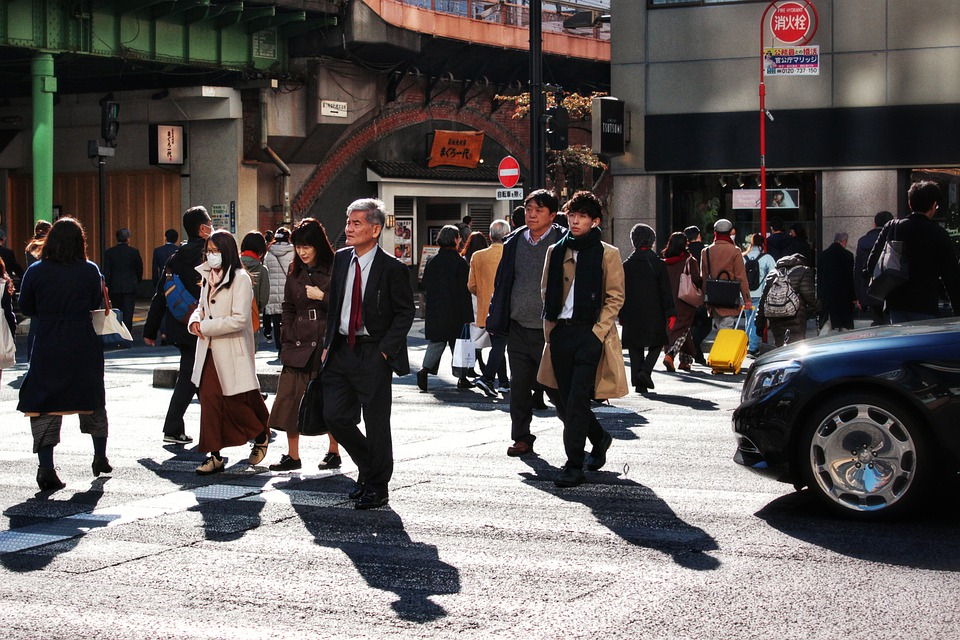 Street, Japan, City, Urban, Road, Outdoor, Asia