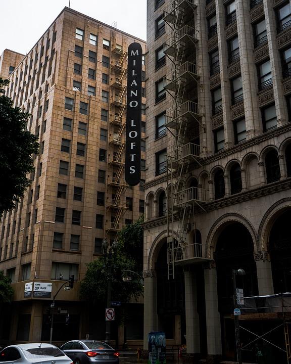 Vintage, Urban, Architecture, Hotel, Buildings