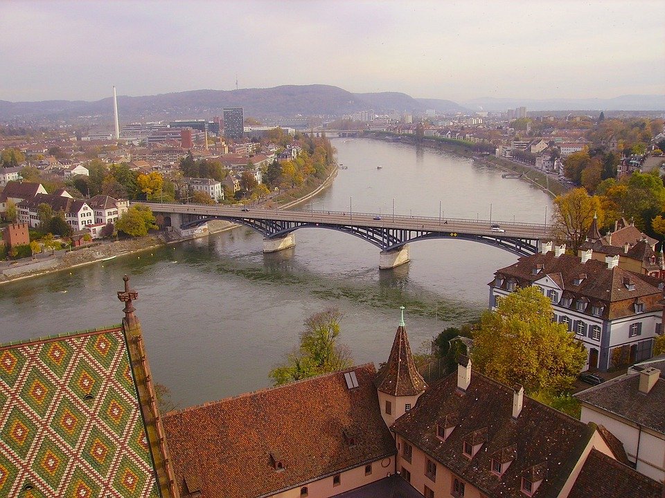 Munster, Germany, Urban, City, Cities, Bridge
