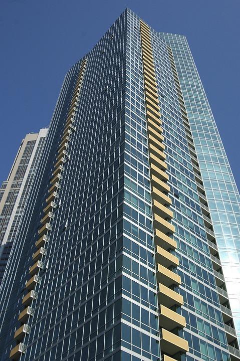Chicago, Downtown, Skyline, Cityscape, Urban, City